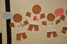 Great gingerbread man writing activity