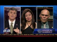Michelle Malkin v James Carville Debate White House Scandals - Sean Hannity 6-5-13  RightSightings