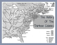 Free public domain ebook- History of the Thirteen Colonies