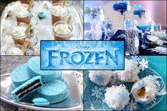 Throw a Disney Frozen Themed Party!  Great food ideas. disney frozen themed food, birthday parties, frozen themed food ideas, theme parties, frozen parti, parti idea, frozen birthday, disney frozen food, disney food ideas
