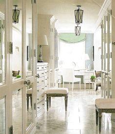 Elegant Closet & Vanity