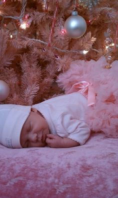 Babies first Christmas.