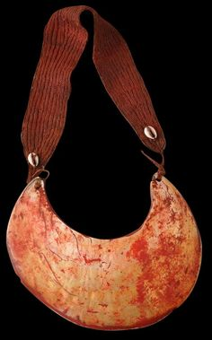 Stained Kina Shell Necklace | Southern Highlands, New Guinea | early 20th century