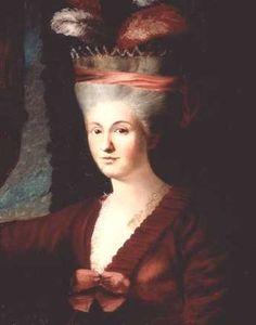Maria Anna (Nannerl) von Berchtold zu Sonnenburg, geb. Mozart, 1785, artist unknown, Stiftung Mozarteum Salzburg collection http://www.mozarteum.at/en.html