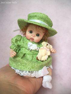 "OOAK baby by Joni Inlow. Ebay id dolly-street. Or on facebook ""Joni Inlow Dolls"""