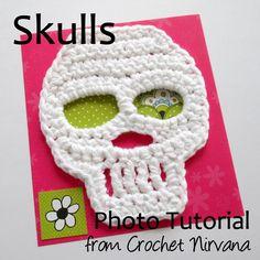 Skull Crochet Patter