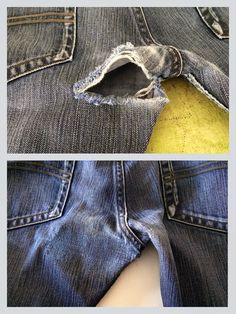 Een jeans herstellen: tutorial