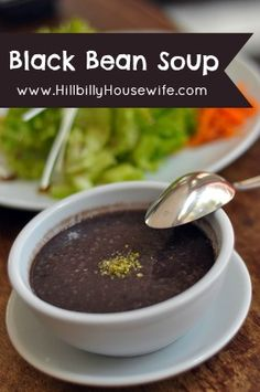 Black Bean Soup from