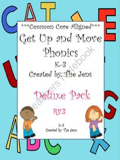 Win our Deluxe Pack - Get up and Move Phonics! ! Enter for your chance to win 1 of 5.  Get Up and Move Phonics 1st-2nd Grade Deluxe Pack (130 pages) from jen1jen2 on TeachersNotebook.com (Ends on on 9-30-2014)  Get up and Move Phonics is one of our best sellers. Our Deluxe Pack comes with 19 games to play, and the letter/word cards to play them with. $12 value!
