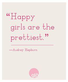 glo | Revealing Beauty: Quotes We Love: Audrey Hepburn