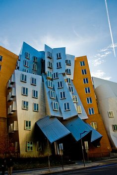 Frank Gehry's Strata Center at MIT