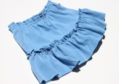 ruffl skirt, skort size, tshirt ruffl, recycled t shirts, sew project, kid cloth, skirts, diy tutorial, recycl tshirt