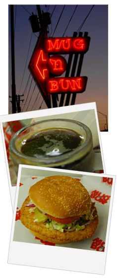 Mug 'n Bun. A drive up restaurant in Indy that has earned raves!