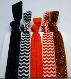 OSU Glitter Hair Tie Pack