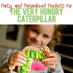 The Very Hungry Caterpillar Party, Personalized Products and more! Another super cute idea for the very hungry caterpillar!