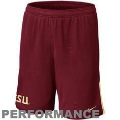 Nike Florida State Seminoles (FSU) Monster Mesh Performance Shorts - Garnet