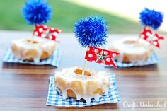 DIY 4th of July : DIY Patriotic Party Food Picks