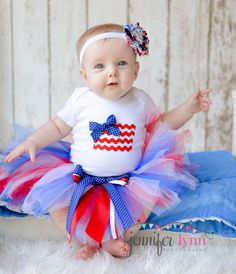 4th of july baby costume