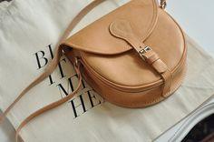 brown, bag, cute, vintage, style