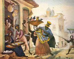 Jean Baptiste Debret - Cena de Carnaval -