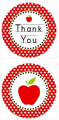 """""""Thank You"""" cupcake toppers for teacher appreciation week.  Which begins Monday, May 7th.  Print these for free. cupcak topper, teachers cupcakes, teacher cupcakes, teacher gift, thank you cupcake toppers, printabl, teacher appreciation cupcakes"""