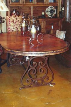 dining rooms, decor, dining room furniture, copper tabl, buffet tabl, copper furnitur, copper dream, dining tables, oval copper