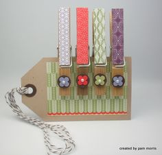 altered wooden clothspins