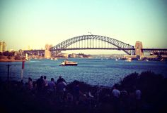 The view from Goat Island Sydney Harbour