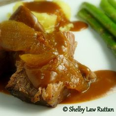 Pot Roast and Onions
