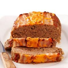 Bacon Cheeseburger Meatloaf Recipe  6 Points