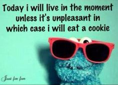 word of wisdom, life motto, cookie monster, chocolate chips, cooki monster