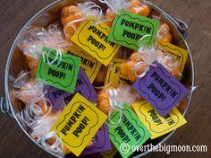 Pumpkin Poop {free printable}