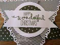 Star Card with Stampin' Up! Designer Paper