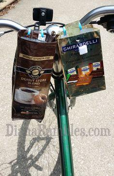 DIY Custom Bicycle Storage Basket Solution