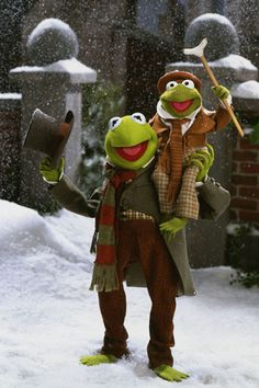 THE MUPPETS CHRISTMAS CAROL.