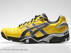 Asics Gel Resolution 3 Yellow/Black Men's Shoes. $78.95