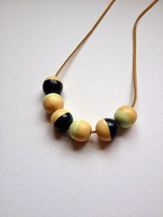 Handmade Necklaces for Big & Little - a great project for moms and daughters