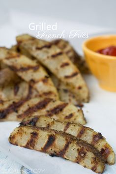 Grilled French Fries