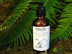 New! Lavender Massage and Body Oil  - made from Organic Botanicals. $19.95, via Etsy. This oil was solar infused with organic herbs for a minimum of eight weeks, then blended with nourishing and moisturizing oils including Macadamia Nut Oil and Shea Nut Oil.