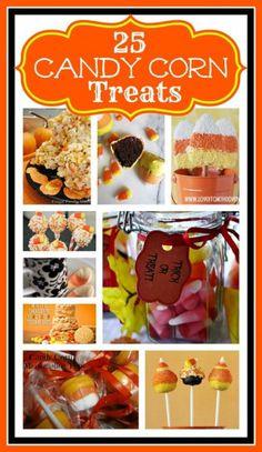 Candy Corn treat ideas