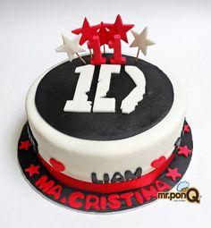 Mr.ponQ torta One Direction