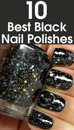 Today almost every other girl can be seen sporting it on her nails. Black looks chic and can be paired with almost any outfit.