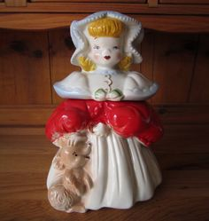 Goldilocks Cookie Jar -- by Regal China circa 1940s $144.00