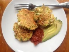 Quinoa Cakes with Cheese, Garlic, and Herbs quinoa cake
