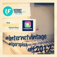 "Challenge per l'Internet Festival a Pisa. Con ""Internet Vintage"" visiti la mostra di Kandinsky #igerspisa #if2012 #internetvintage    http://instagramersitalia.it/contest/challenge-internet-vintage-con-igerspisa-per-internet-festival-2012/"