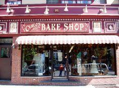 Carlo's Bake Shop.  Hoboken, NJ.  Got to see the Cake Boss!