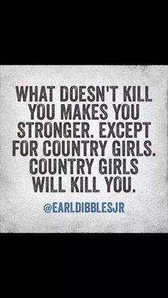 Country Girls!