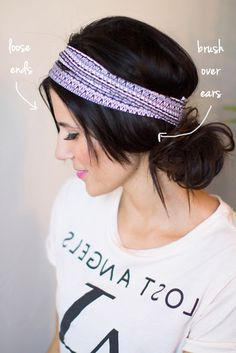 4 ways to rock a headband