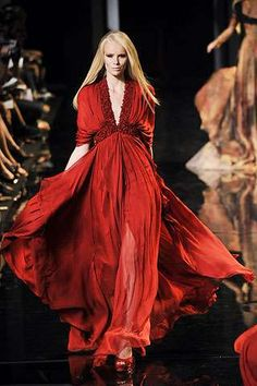 Elie Saab Fall 2010 Haute Couture Collection  MAISON Kiss Kiss LONDON