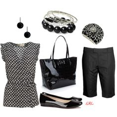 Black, created by coombsie24 on Polyvore